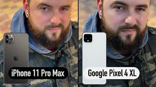 iPhone 11 Pro Max VS Google Pixel 4 XL. Big camera comparison