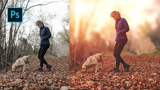How To Create Morning Color Grading in Photoshop - Photoshop Tutorials