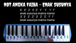Not Pianika Faiha - Enak Susunya