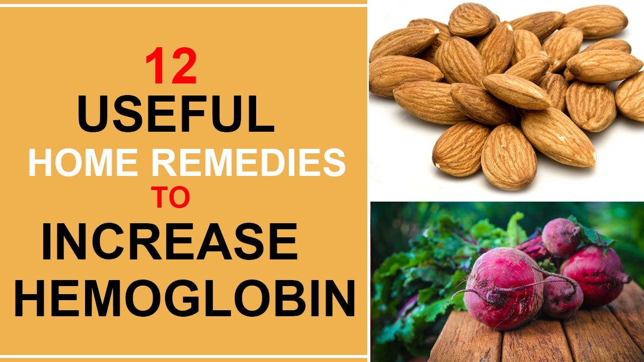 How to increase hemoglobin at home 58