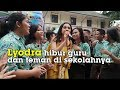 Lyodra Ginting Hibur Guru dan Temannya di SMA Santo Thomas 2 Medan