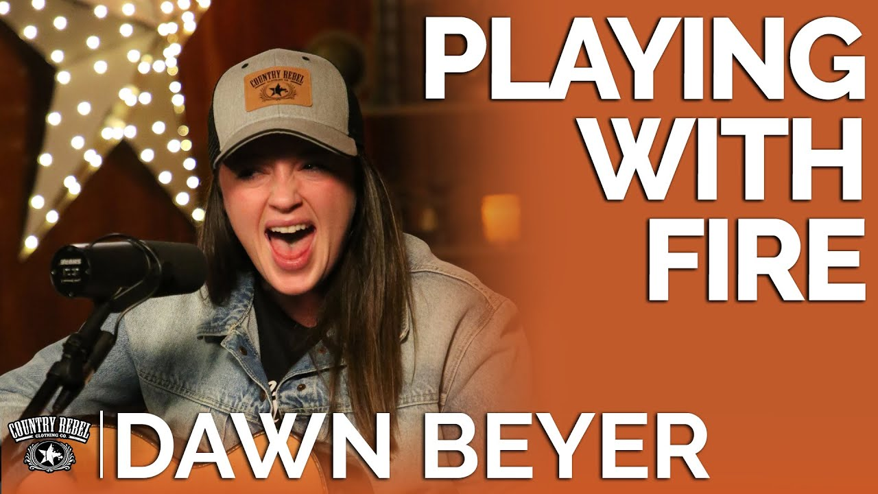 Dawn Beyer — Playing With Fire (Acoustic) // Fireside Sessions