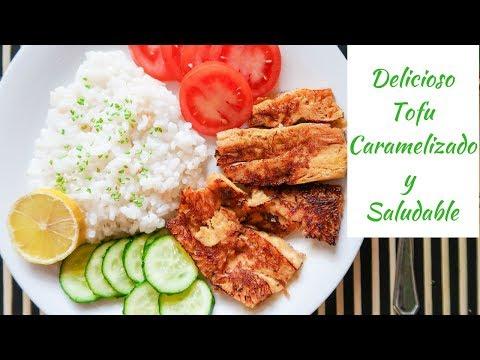 Cómo cocinar TOFU DELICIOSO y Saludable // Receta de comida o cena fácil y rápida