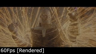 Dr. Strange vs Thanos - Infinity War [24fps-60fps] Comparison