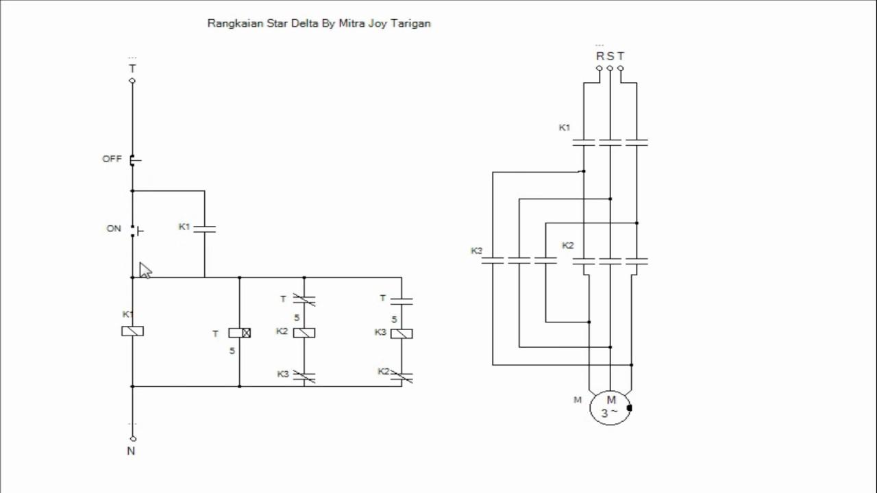 Rangkaian star delta motor listrik 3 fasa youtube rangkaian star delta motor listrik 3 fasa ccuart Image collections