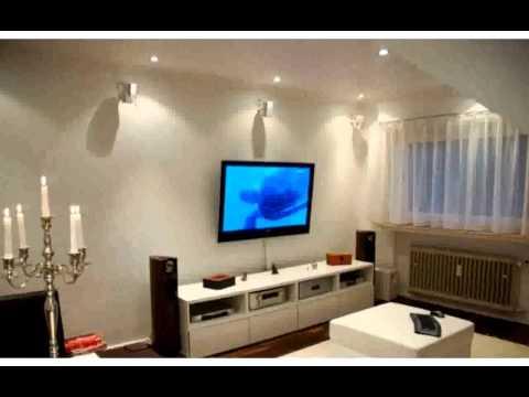 wohnzimmer gestalten farbe - fotos - youtube