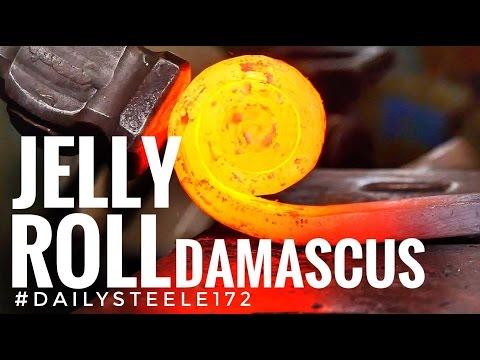 JELLY ROLL DAMASCUS STEEL!!!