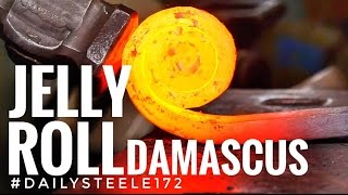 JELLY ROLL DAMASCUS STEEL!!!
