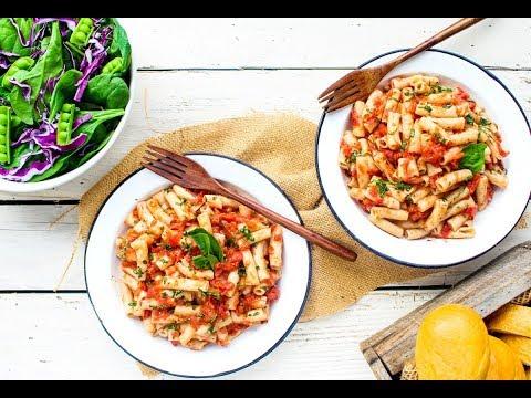 15 Minute Grape Tomato Pasta Recipe