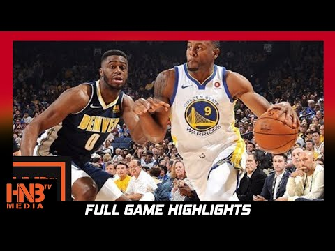 fbbacfee66d Golden State Warriors vs Denver Nuggets Full Game Highlights   Sept 30    NBA Preseason