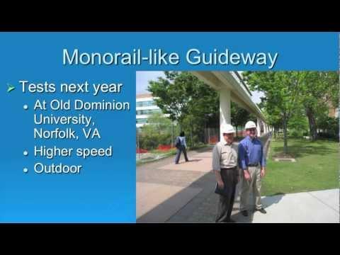 GlobalSpec Webcast Dr. Richard Thornton Discussing MagneMotion's Maglev Technology