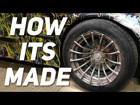 How its made: rebar wheel  - Avagy felnit betonvasból Junkbuilds JB-1