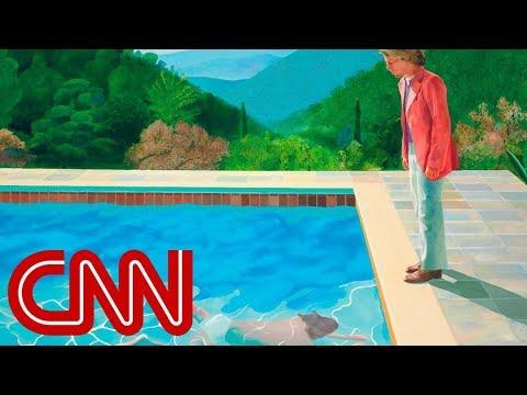 CNN: David Hockney painting sells for $90M, smashing auction records
