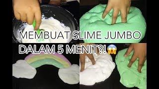Cara TERMUDAH membuat slime jumbo menggunakan lem fox hanya dalam 5 menit by Rafli Anizar