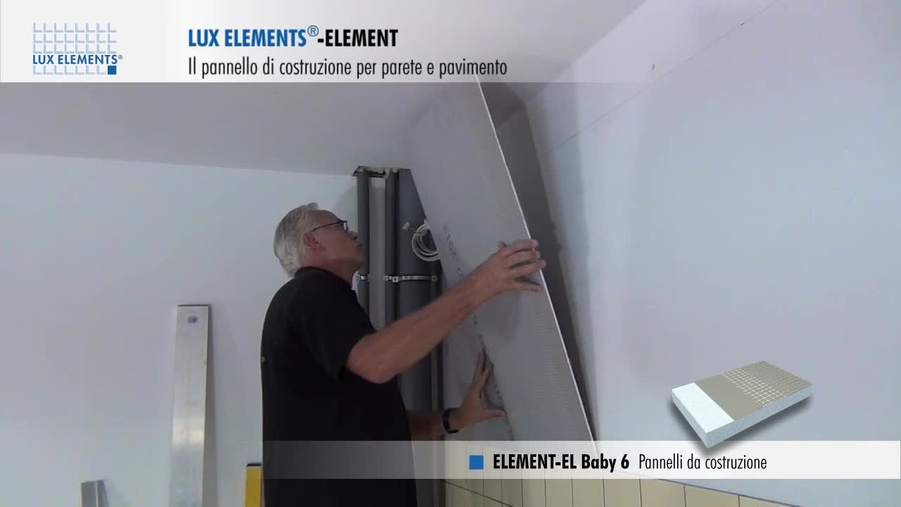 Montaggio LUX ELEMENTS: pannello di costruzione come compensazione ...