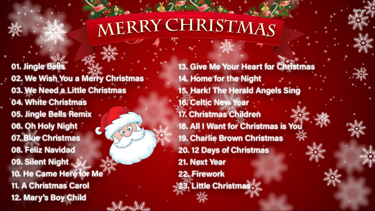 Top 100 Christmas Songs Of All Time 3 Hour Christmas Music Playlist Youtube