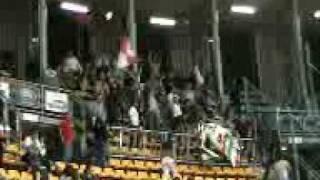 Ingresso Ultras Forli al PalaDozza (andata Coppa Italia)
