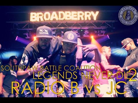 Legends Never Die 2: Radio B vs JC