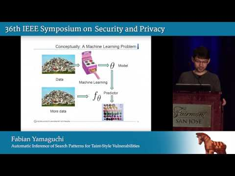 Automatic Inference of Search Patterns for Taint-Style Vulnerabilities