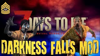 Horde Night Horrors | 7 Days To Die Darkness Falls Mod Live Stream
