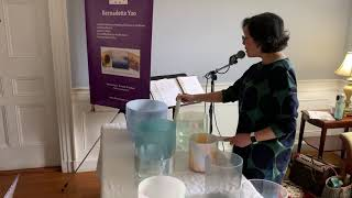 Crystal Alchemy Sound bath by with Bernadette Yao