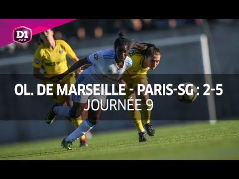 J9 : Olympique Marseille - Paris-SG (2-5), le résumé