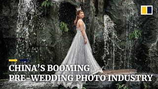 China's booming pre-wedding photo industry