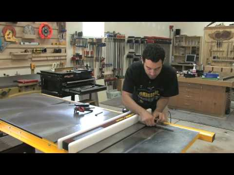 & 56 - How to Setup u0026 Tune a Tablesaw (Part 2 of 2) - YouTube