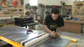56 - How To Setup & Tune A Tablesaw (part 2 Of 2)