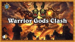 """Hearthstone: Elite Warrior Gods Clash - N""""Zoth Warrior Vs Quest Warrior"""