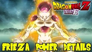 Dragon Ball Z Fukkatsu No F (Resurrection of F): Golden Frieza Strengths, Weaknesses, & Moves
