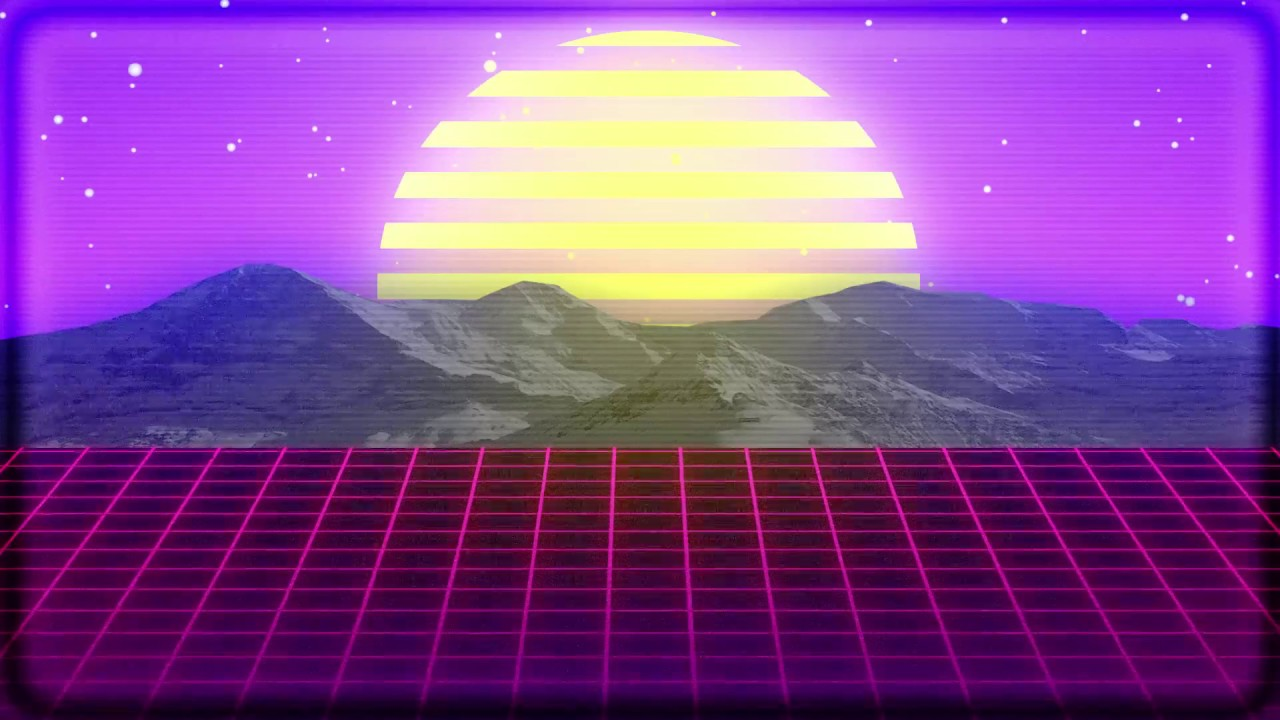 80s Neon Title Sequence - After Effects (Vaporwave/Synthwave)