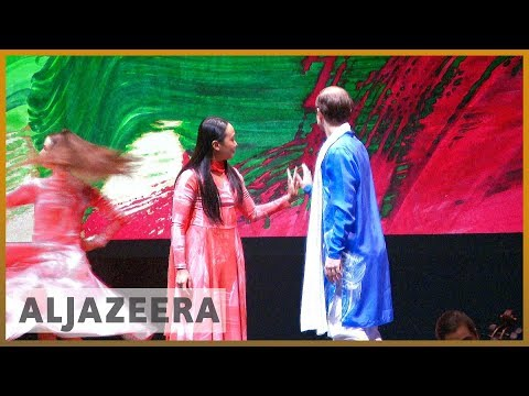 🇬🇧Crazy in Love: The Story of Layla and Majnun premieres in London l Al Jazeera English