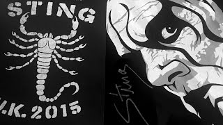 sting in the uk meet greet and q