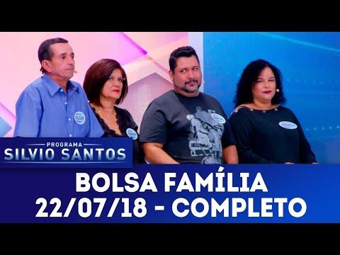 Bolsa Família - Completo | Programa Silvio Santos (22/07/18)