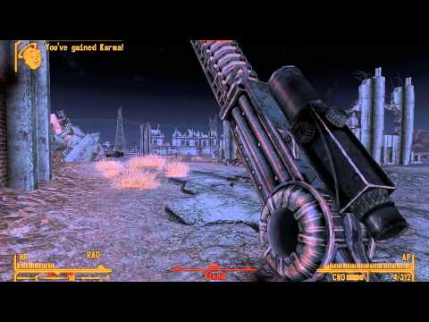 Fallout New Vegas - Unique Weapons - 9 Iron: Nephi's Golf Driver