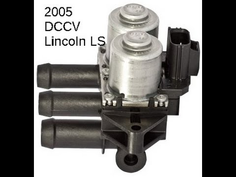 Lincoln LS DCCV Dual Climate Control Value/ Heater control valve