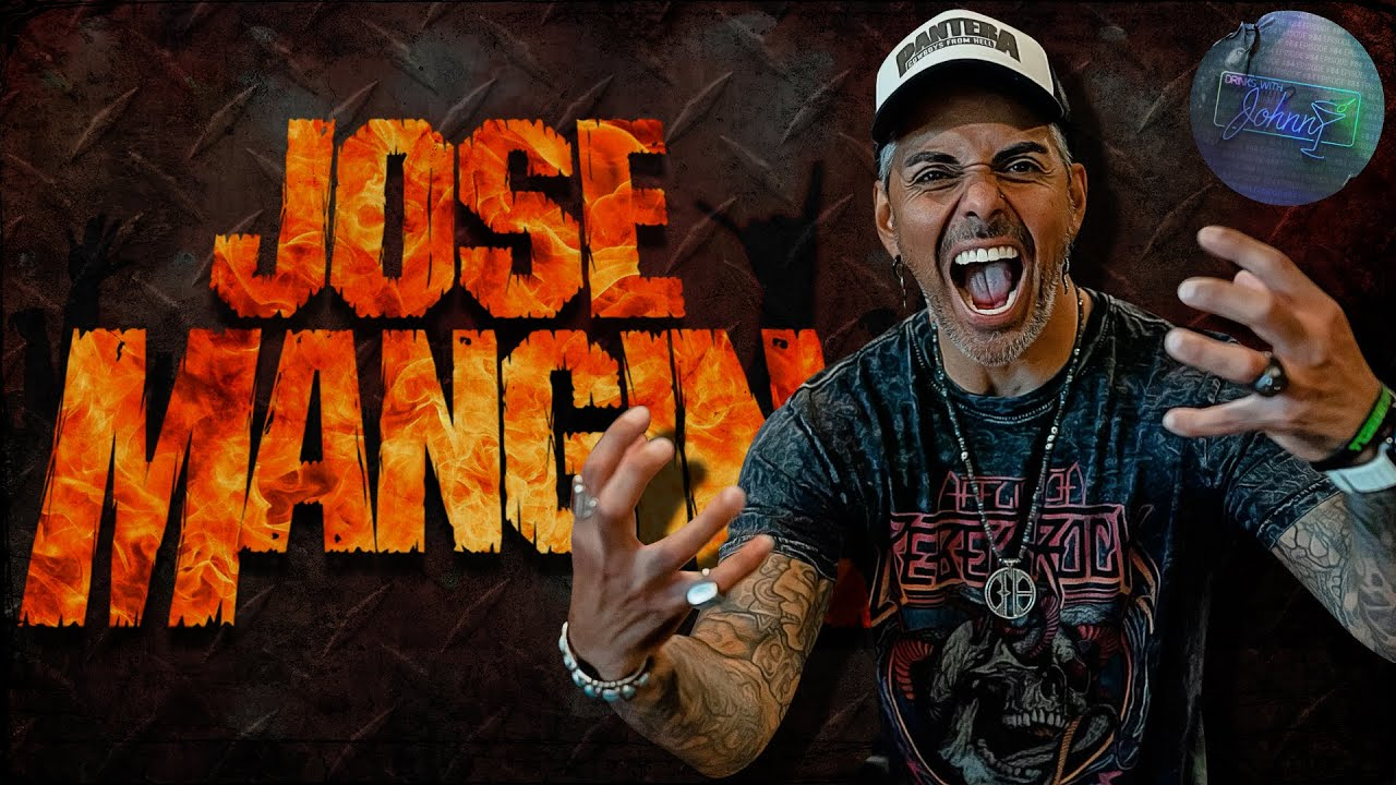Metal & Tequila with Jose Mangin   Drinks With Johnny #84