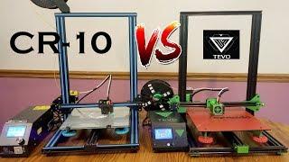 CR-10 VS Tevo Tornado.  What 3D Printer is the best?