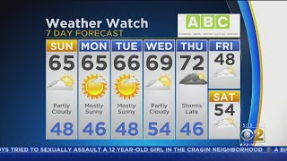 CBS 2 Weekend Weather Watch 7 A.M. 10-6-2019
