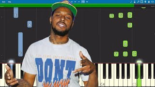 Schoolboy Q, Travis Scott - CHopstix Piano Tutorial