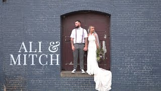 Ali & Mitch // Ashland Train Depot // 10.11.19