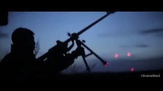 Ukraine War • April 2016 • NEW Extreme Heavy Clashes And Intense Fighting At Night In Donetsk