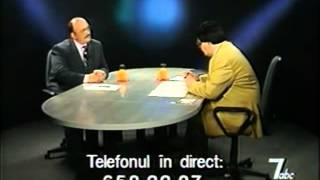 Interviu cu Crin Halaicu (Bogdan Teodorescu, Tele7)