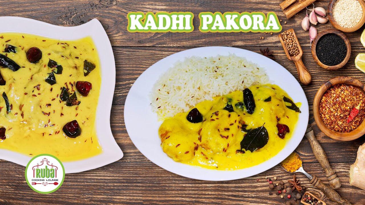 Kadhi Pakora Recipe | Mom's Authentic Recipe