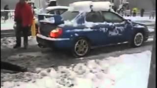 Что может Subaru Impreza .Прикол.