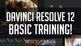 DaVinci Resolve 12 Basics - End to End Crash Course!