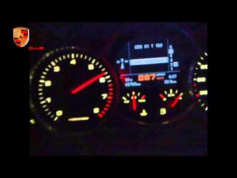 Porsche Cayenne Turbo Top Speed - video