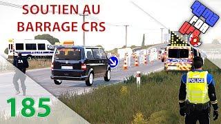 [Arma 3 Life] Episode n°185 : Renault Mégane RS | Soutien au barrage CRS