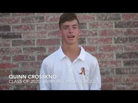 Quinn Crosskno - Class of 2020 - Armorel High School (full resume link in description)